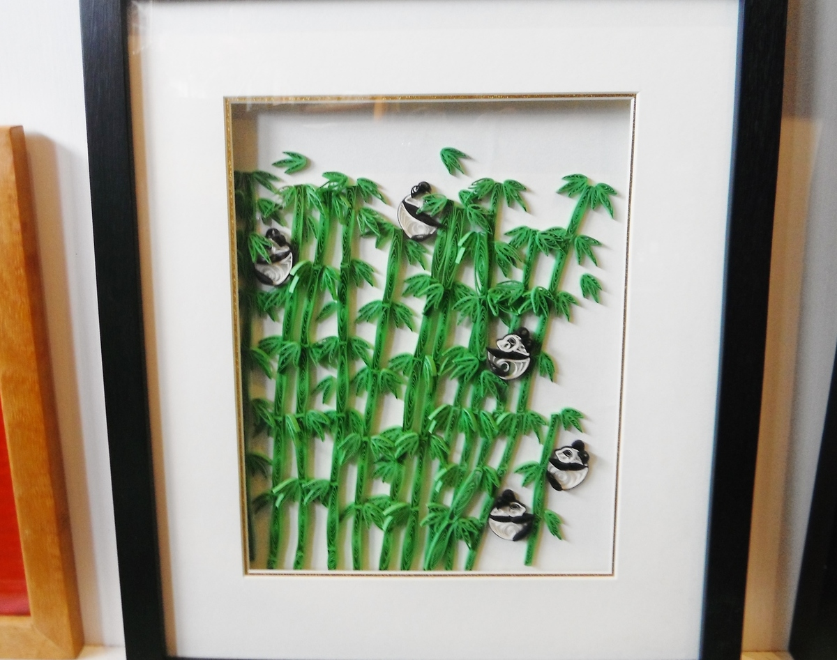 <p>Framed Quilling  Pictures by Xiaoqin</p>