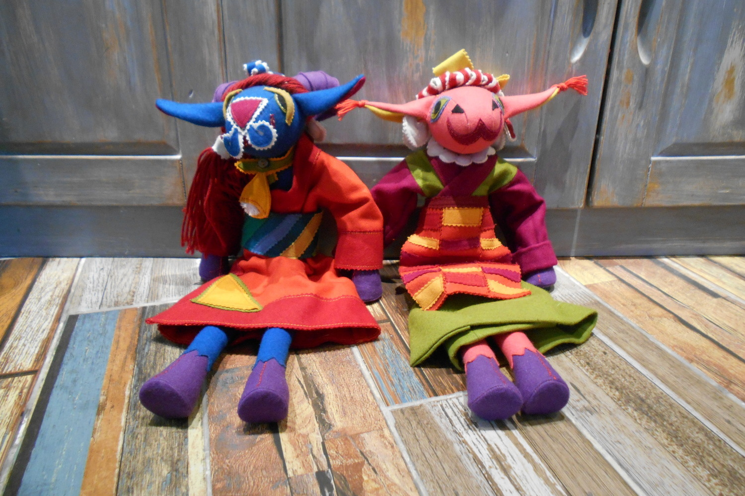 <p>Dropenling Sheeple Doll Family&nbsp;</p>