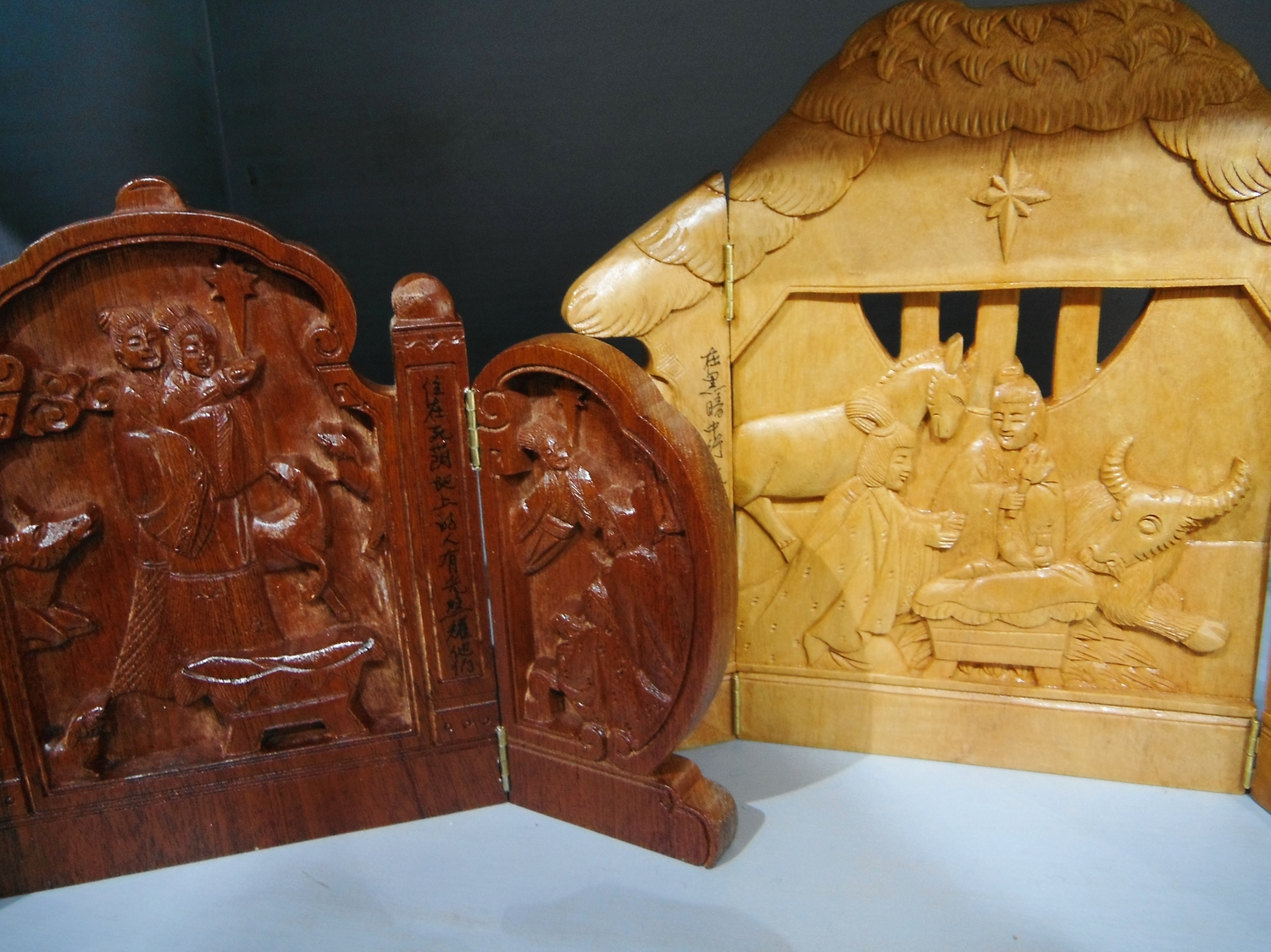 "<p>Hinged Nativities; ""City Gates""&nbsp;</p>"