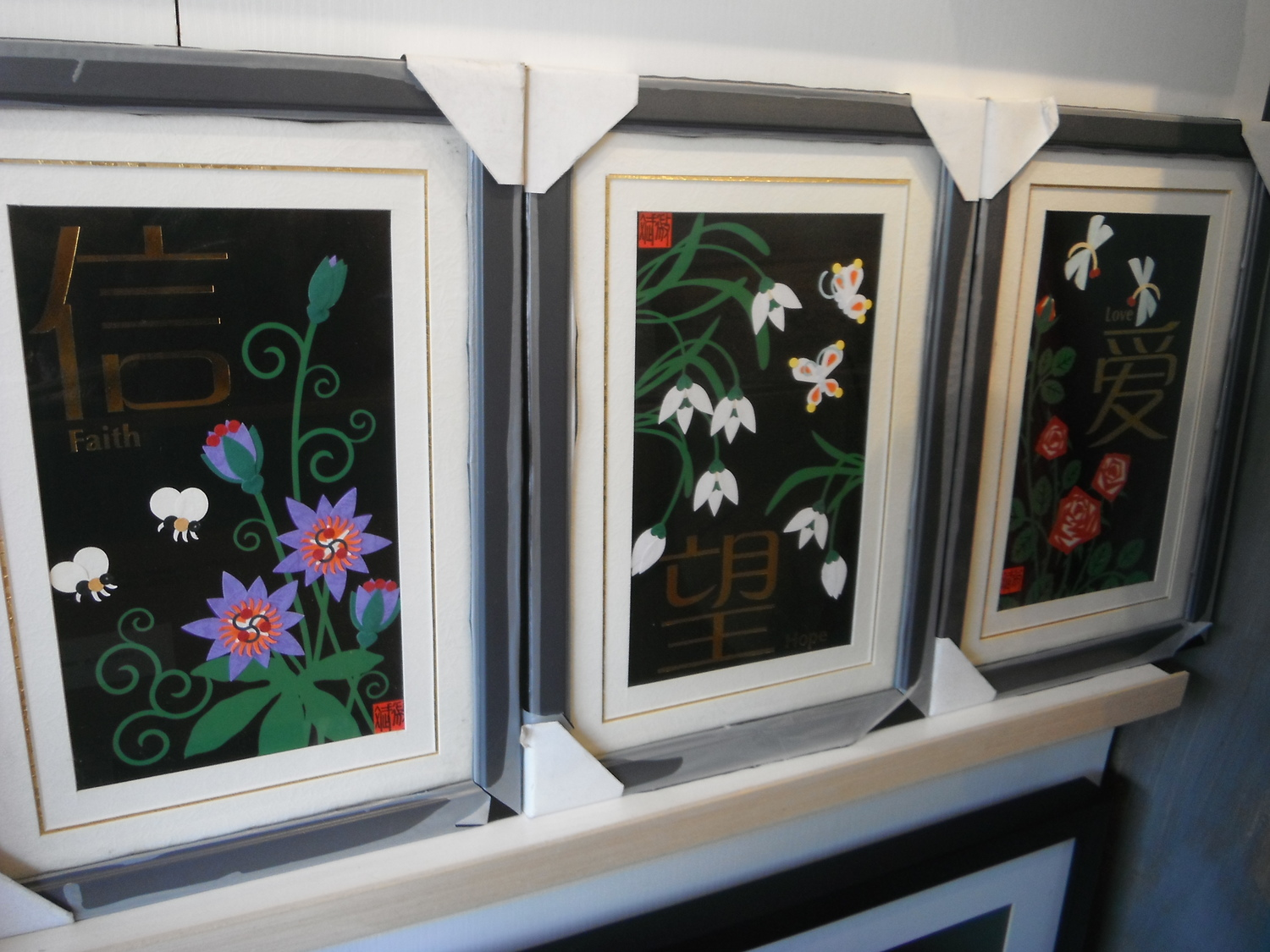 <p>Framed Pictures&nbsp;</p>