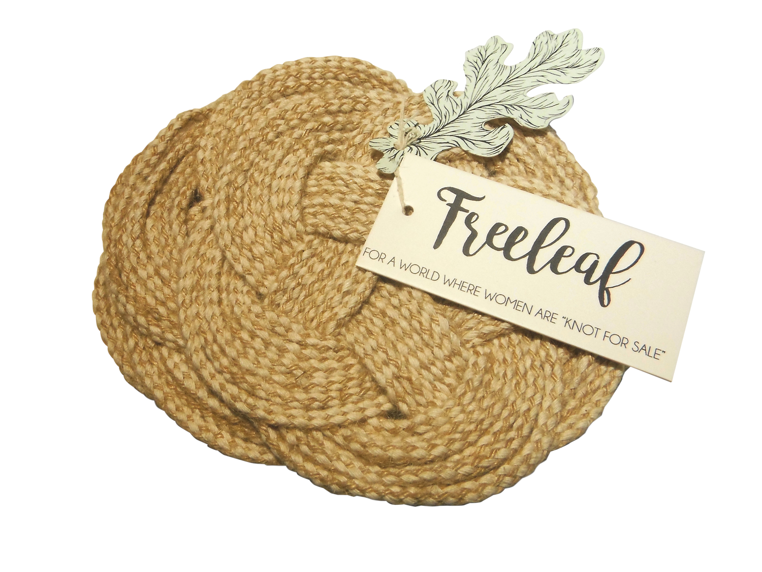 <p>Freeleaf Cotton Coasters (Set of 4)</p>