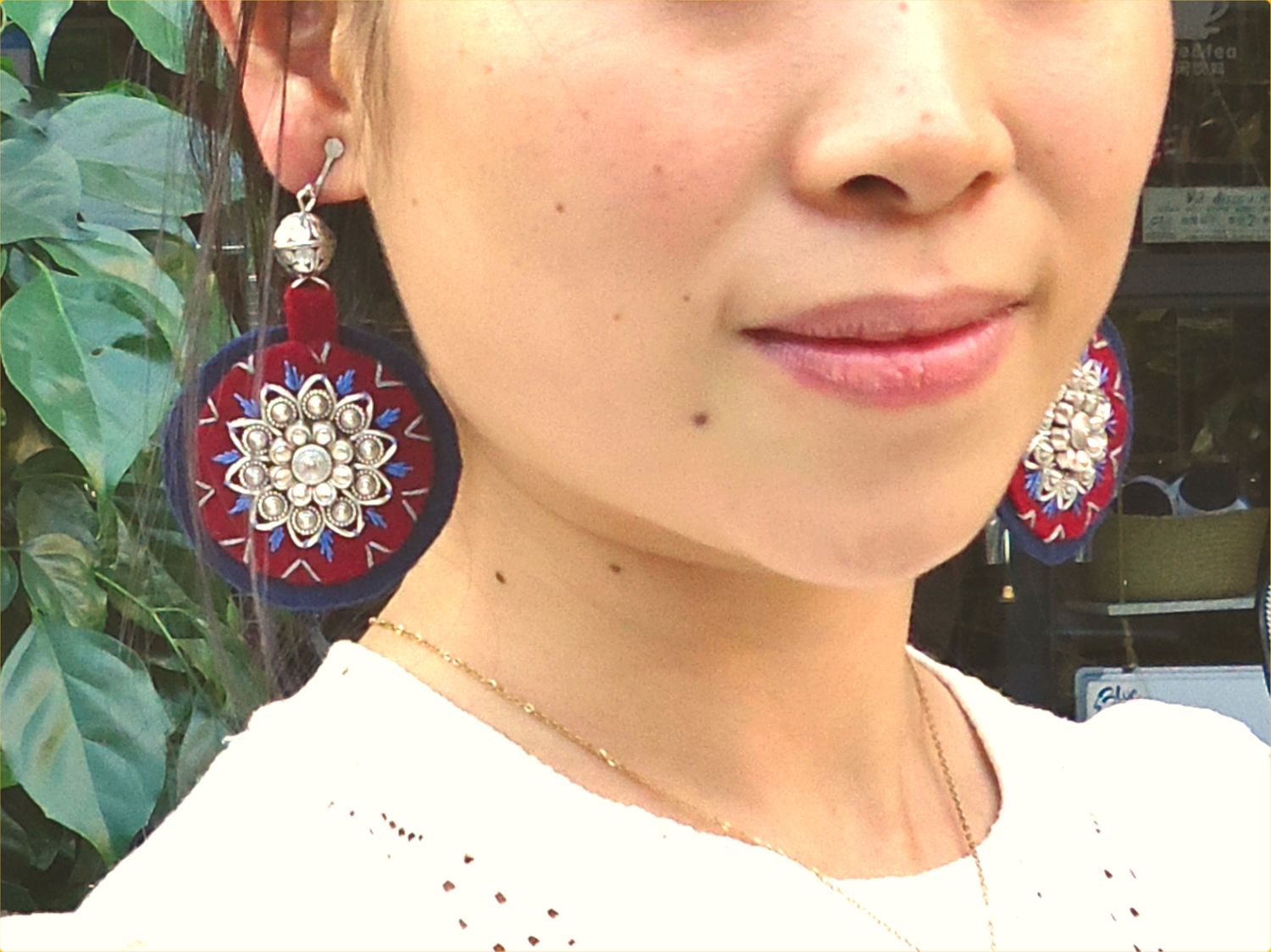 <p>Amdo Special Earrings</p>