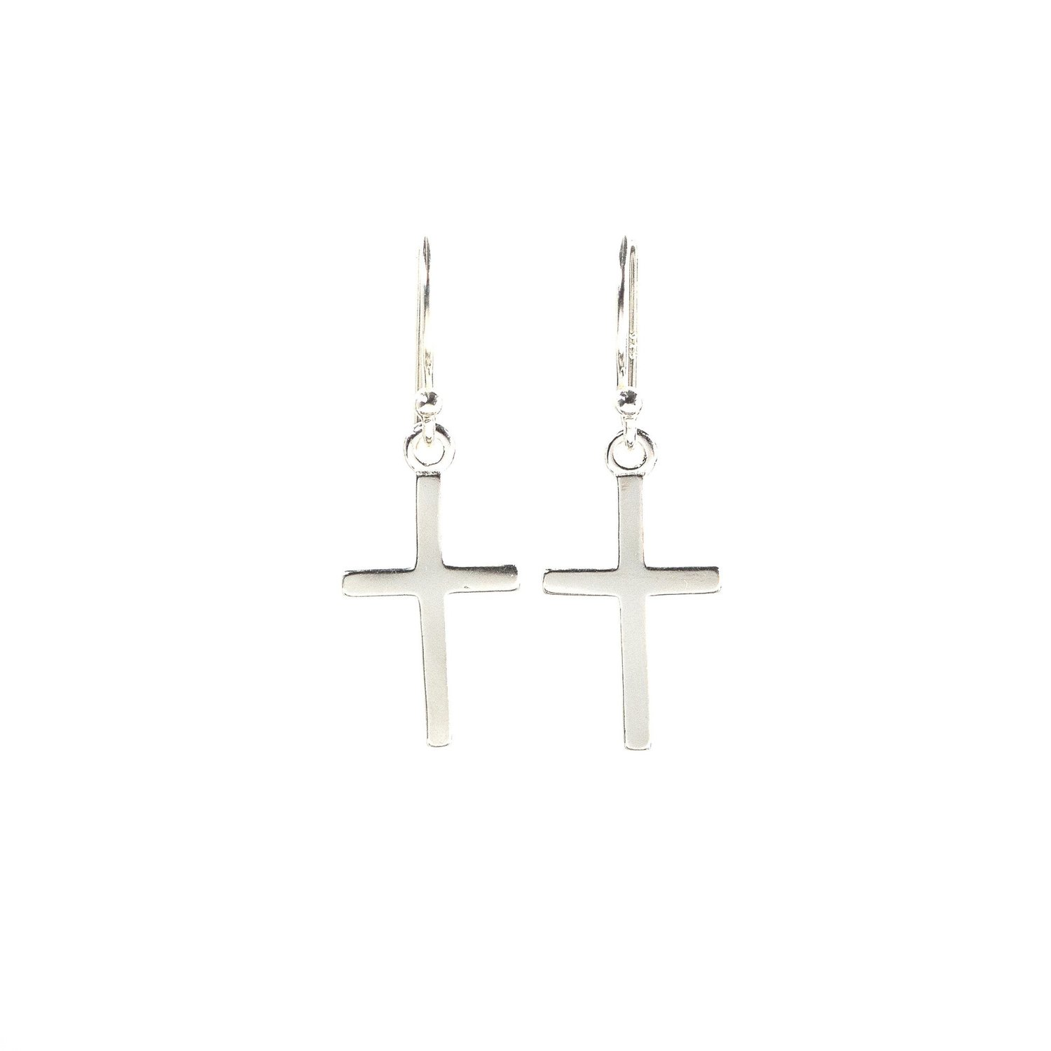 <p>Eden Cross of Hope Earrings E211</p>