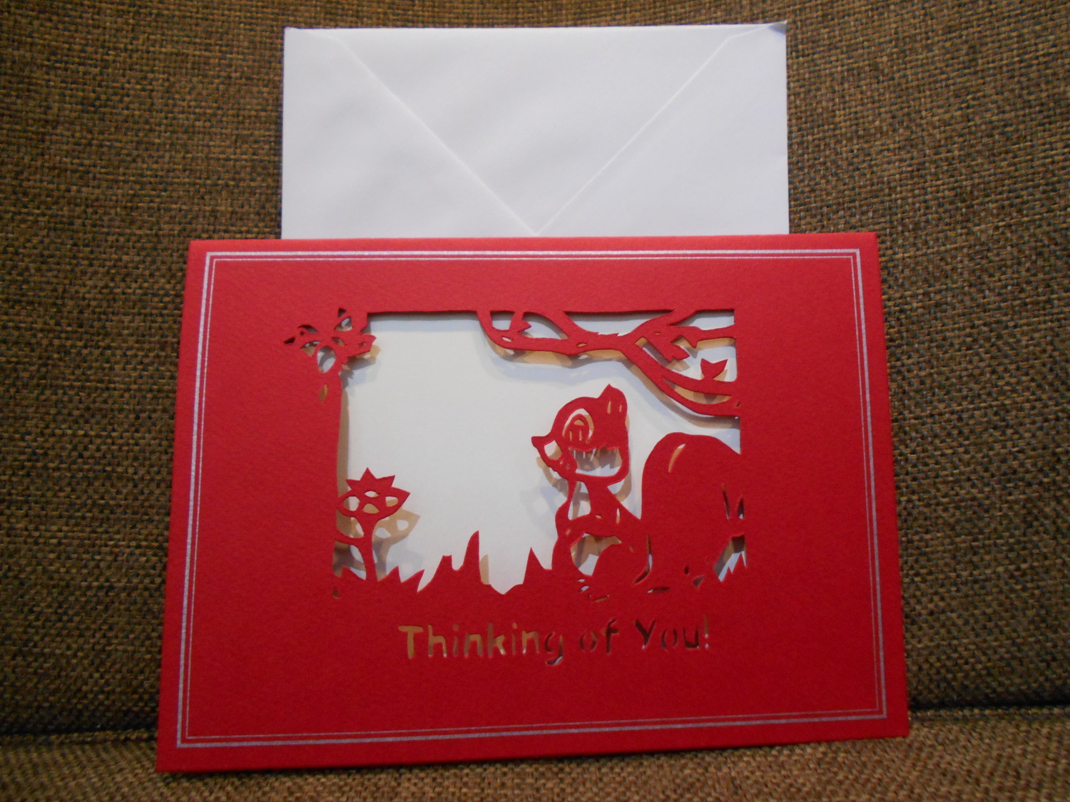 <p>Thinking Of You Card&nbsp;</p>