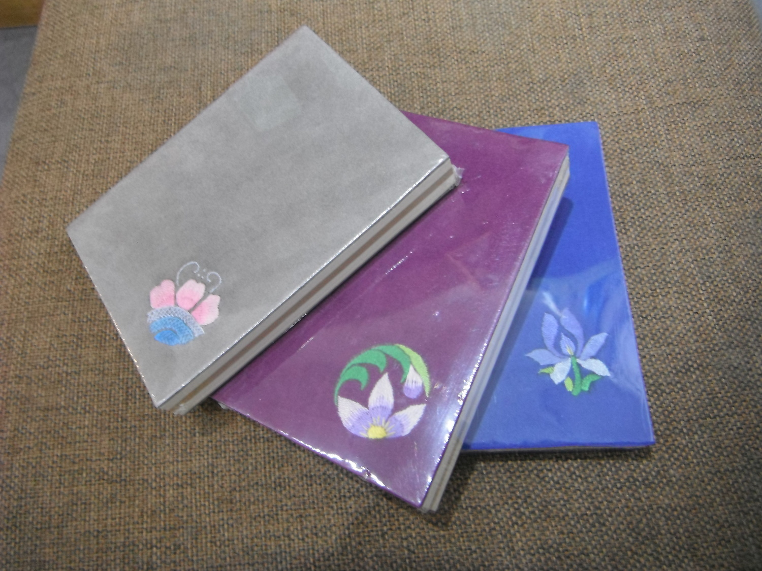 <p>Embroidered Notebook&nbsp;</p>