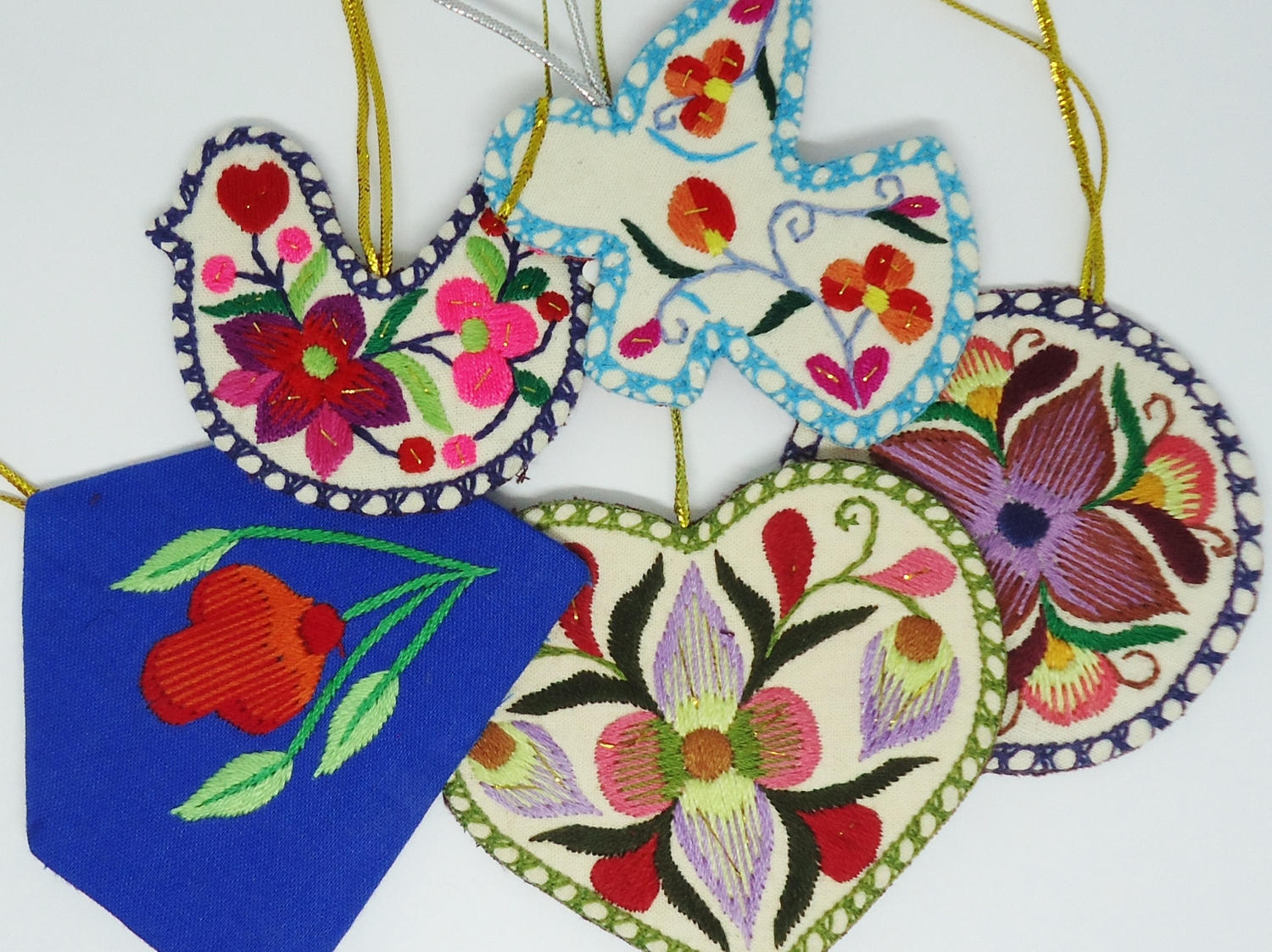 <p>Embroidered Decorations&nbsp;</p>