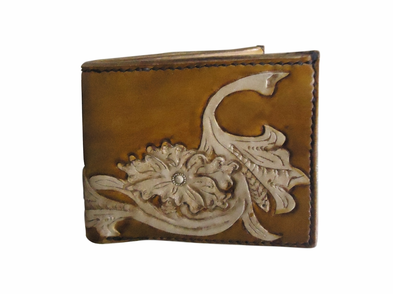 Thanksgiving Leather Wallet by Yang (special price)