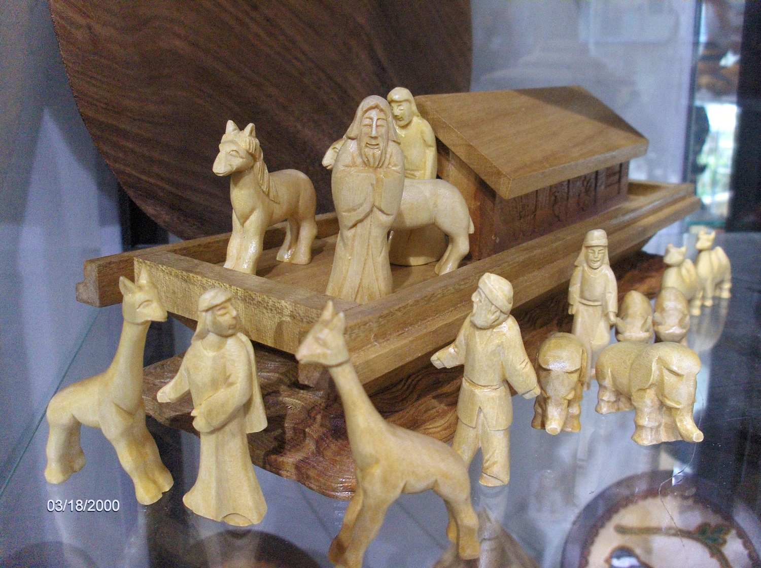 <p>Small Noah's Ark Set</p>