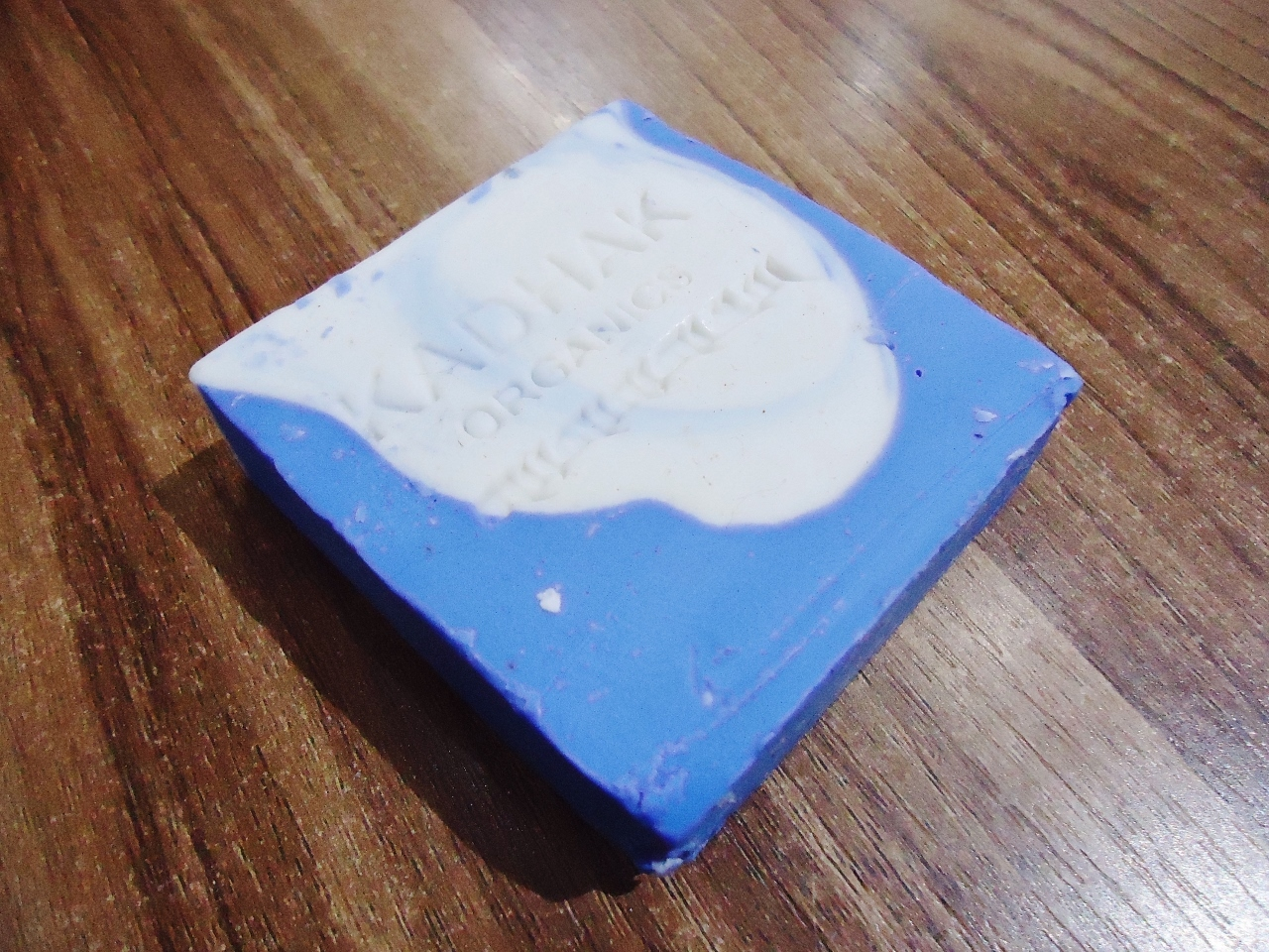 <p>Kadhak Sky Blue Yak Butter Soap</p>