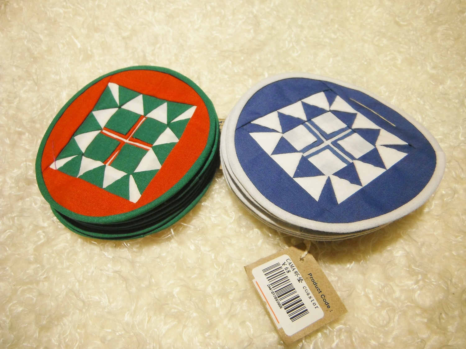 Camacraft Round Coasters