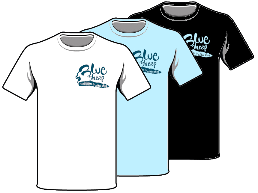 Blue Sheep T-shirts