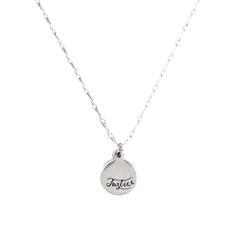 <p>Eden End Injustice Necklace N253&nbsp;</p>