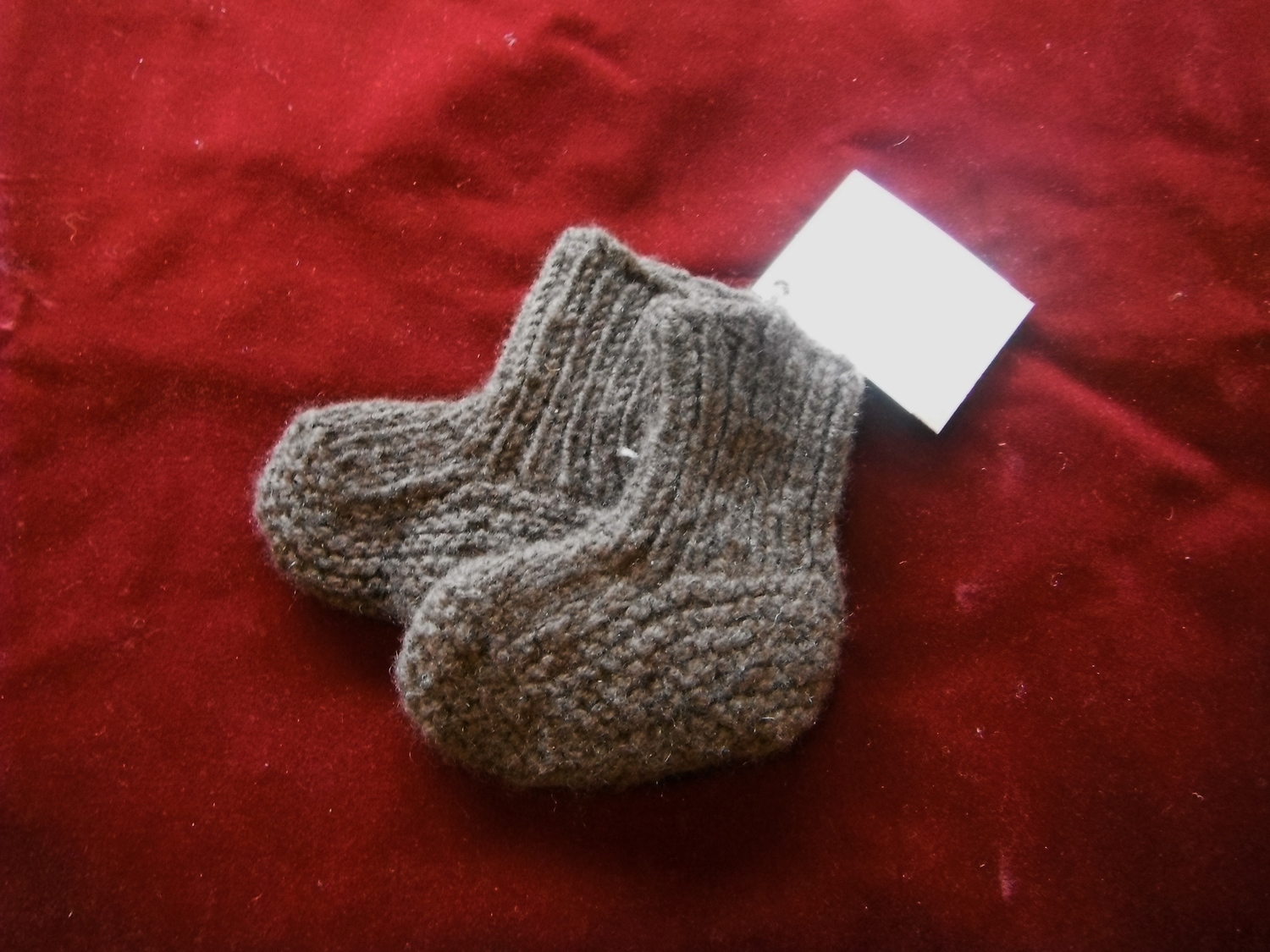 <p>Rocking Yak Baby Booties</p>