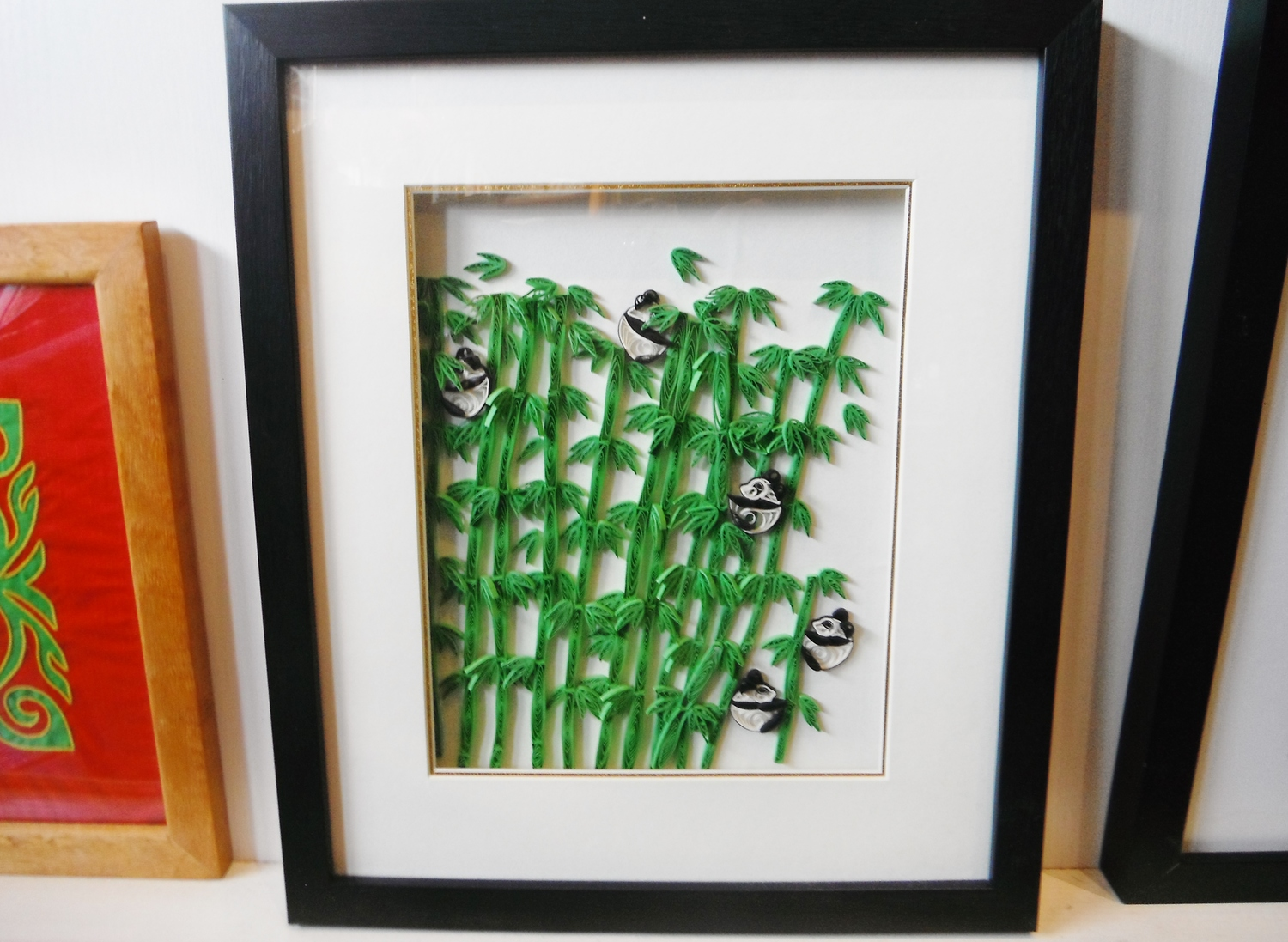 <p>Framed Quilling  Pictures&nbsp;</p>