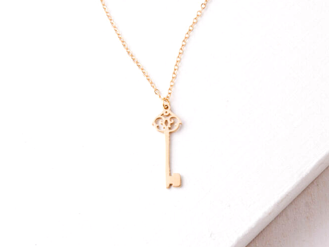 Starfish Emza Key Necklace 226-129