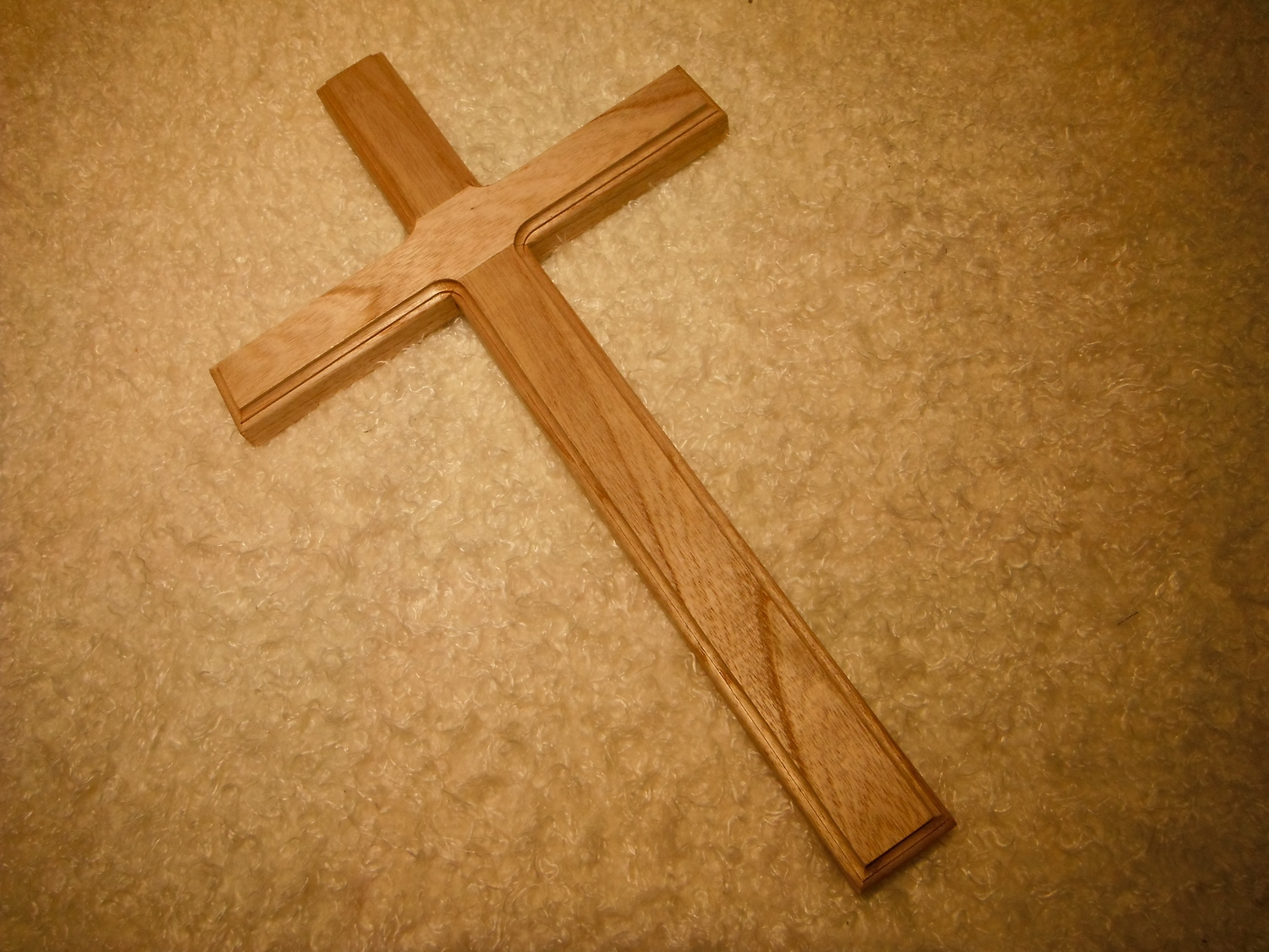 <p>Large Wooden Cross</p>