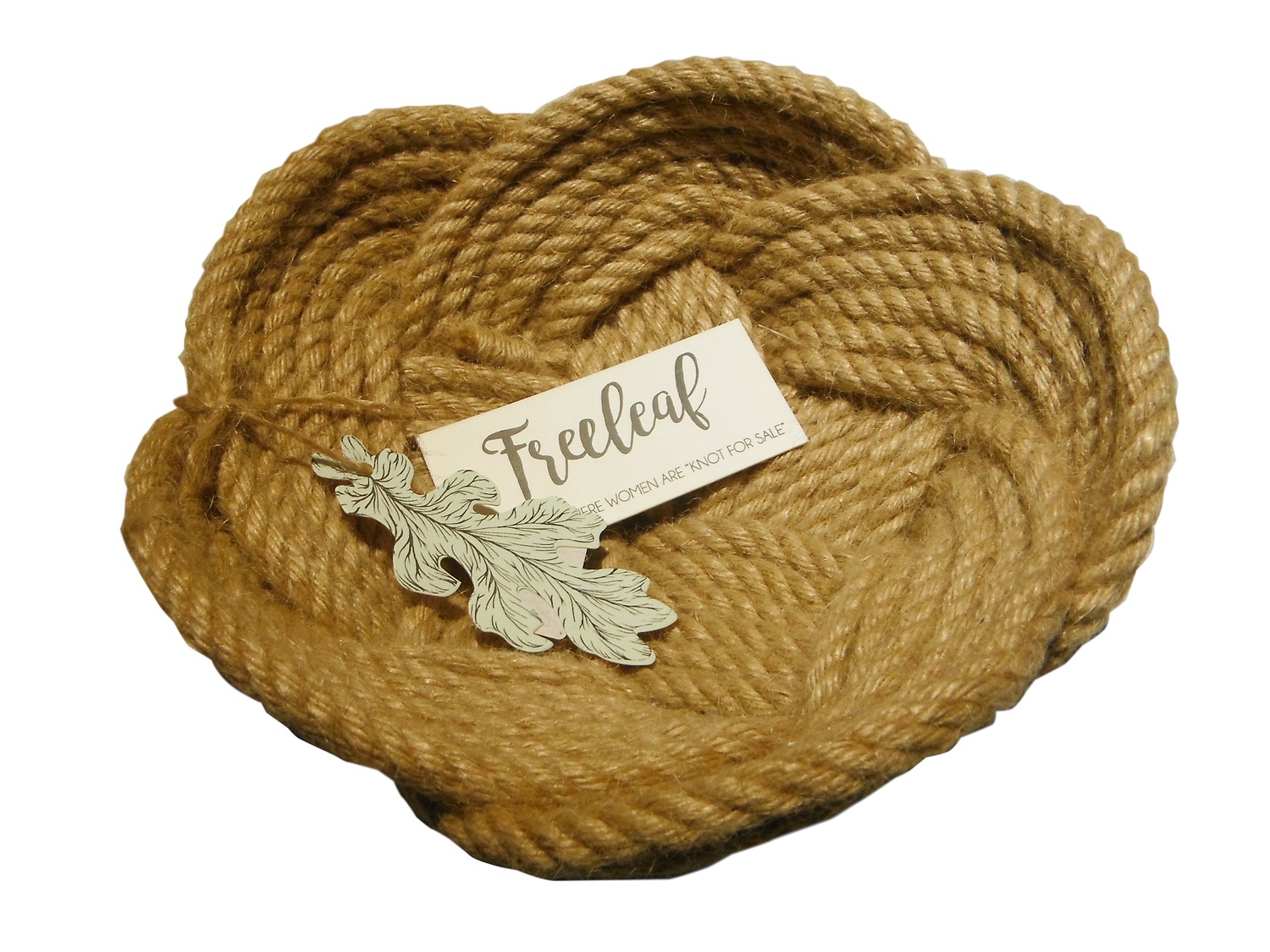 Freeleaf Big Jute Bowl