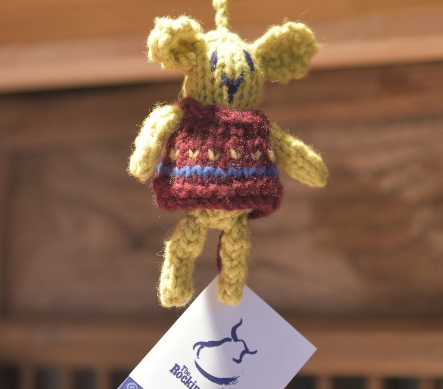 Knitted Creature Dangle